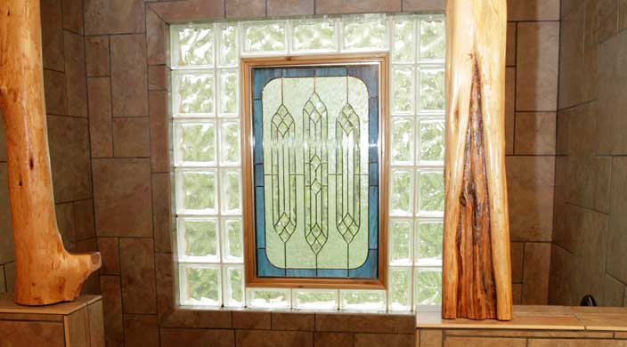 10-38-view-of-sink-and-rain-shower-showing-stained-glass-during-day