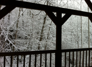 Holiday in the Hills of Kentucky-porch
